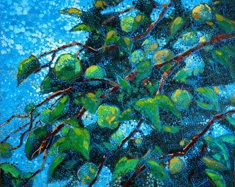 Apples of My Eye - 24x30 Oil Painting