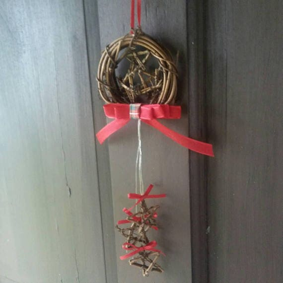Pagan Yule Decoration, Small Wreath Decoration, Yule Ornaments, Ornament Wreath, Pagan, Yule, Decorations, Ornaments, Pagan Yule Gifts
