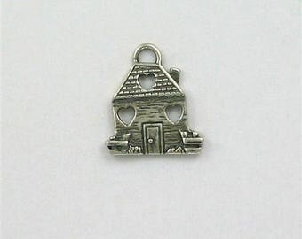 Sterling Silver Loving Home Charm