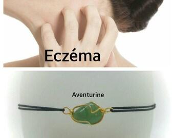 """""""Eczema"""" Bracelet: Aventurine"""