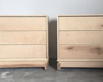 Pair of Nightstands - Available for Custom Lacquer