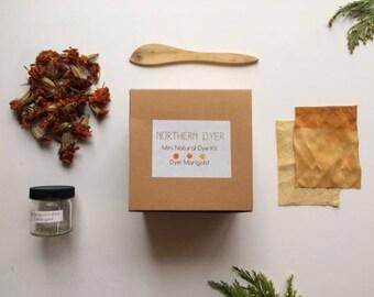 Mini Natural Dye Starter Kit - Marigold