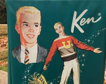 Vintage University Ken Barbie Suitcase Storage 1960s 60s Handbag Purse