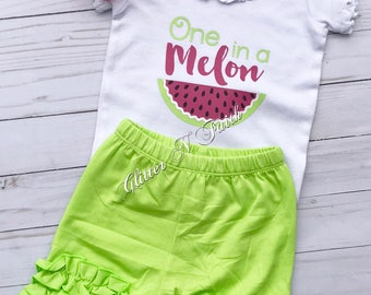 One in a Melon/First birthday/Watermelon/1st birthday