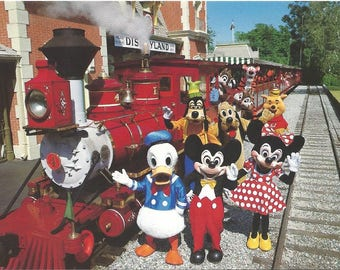 Mickey and Minnie Mouse Postcards