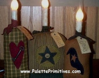 Folkart Sack Lights E-Pattern/Instant Download