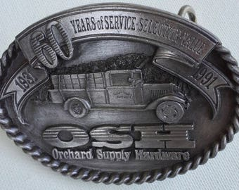 Belt buckle OSH limited edition 1931- 1991