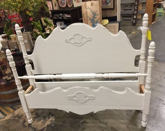 Vintage French Art Deco Full/*Queen Bed