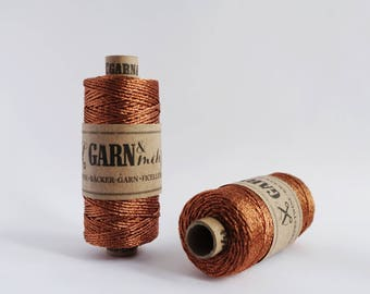 1 spool baker's twine in copper 45m