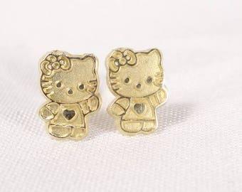 Hello kitty jewelry Etsy