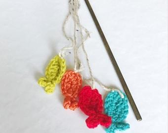 Crochet Fish - Fishing Pole Photography Prop