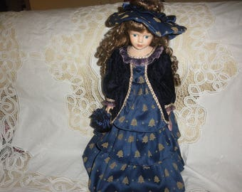 Porcelain Doll Handpainted by J. Misa Limited Edition 1/5000