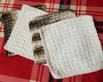 Crochet / Knit Dishcoths..Washcloths