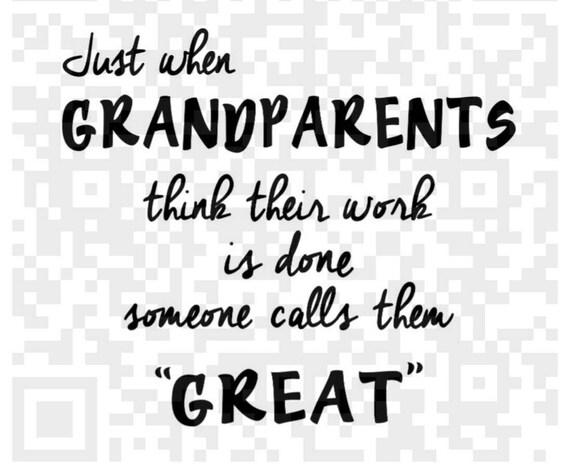 Grandparents png, Great Grandparents, Great Grandparents Png, Cricut png, Design space, Print and Cut File