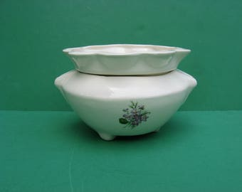 5 inch large ceramic African violet pot...awesome!!!