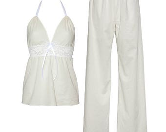 Lullaby long set in white