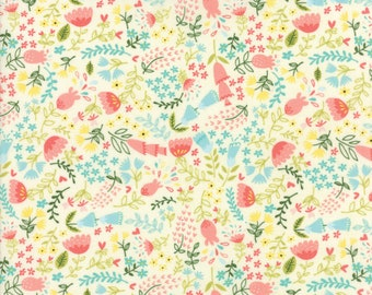 Home Sweet Home #20574-11 by Stacy Ies Hsu, Moda Fabrics, Goldilocks and the 3 bears, Juvenile fabric, Baby Quilt, Baby Shower, IN STOCK