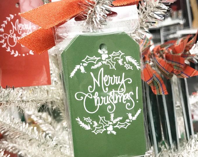 Greenery Moss Gift Tag (Qty 5)