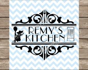 Disney SVG, Kitchen svg, svg files Ratatouille, Ratatouille svg, Cooking svg, Home svg, svg, svg files for cricut, home decor, svg designs