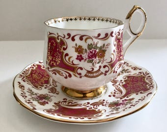 Elizabethan China Tea Cup and Saucer Teacup Set