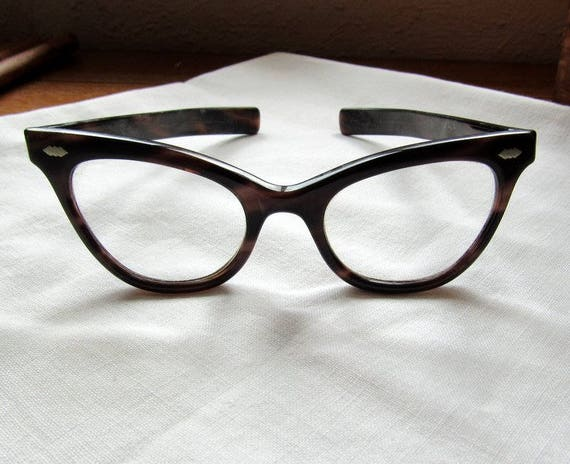 Vintage Tortoiseshell Cat Eye Reading Glasses