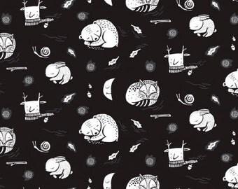 Harvest Moon - Hibernation Black - Wee Gallery - Dear Stella (STELLA-WG993)