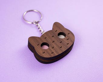 Cookie Cat - Keyring OR Necklace - Steven Universe
