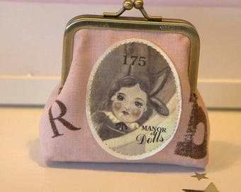 "Wallet ""175 Doll"" pink"