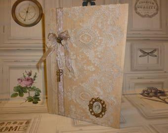 """Book of poetry """"Medallion"""" N 4 booklet or memories book, poetry or secret"""