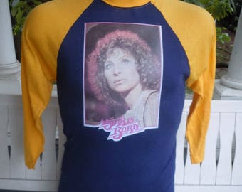 Size L (44) ** 1976 Barbara Streisand Shirt (Single Sided)