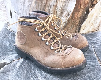 Dexter hiking boots , vintage hiking , camping , shoes , boots , size 7.5 m