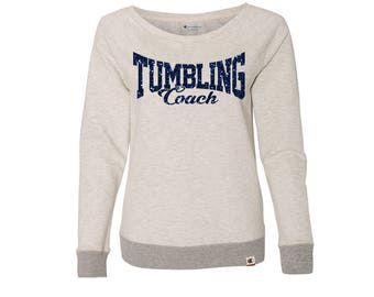 TUMBLING COACH SCRIPT Premium French Terry