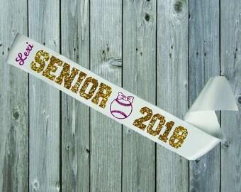 WHITE SASH Senior Night SOFTBALL