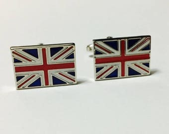 Men's Cuff Links - Union Jack British Flag