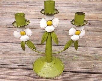 Adorable 3 Taper Candle Holder