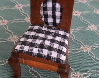 "3.5"" Wooden Doll Chair"