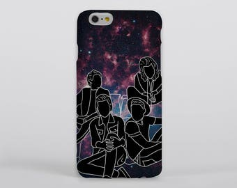 Region of the Summer Stars Phone Case iPhone Samsung One Direction Harry Styles Louis Tomlinson Liam Payne Niall Horan Portrait Drawing