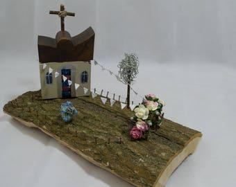 "Coastal art titled - ""Wedding Day Celebrations"" - A one of a kind piece"