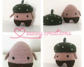 In stock: Acorn Amigurumi