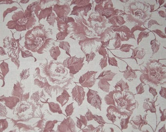 Flowered tablecloth vintage 130 x 130 cm