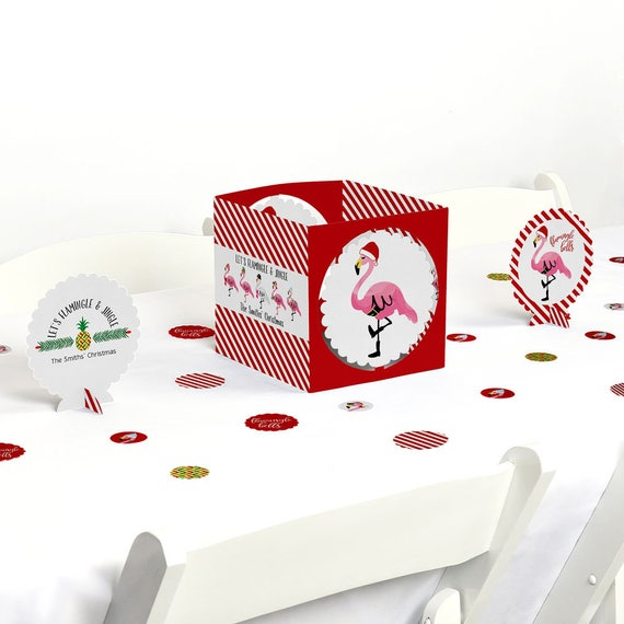 Flamingle bells centerpiece table decoration kit