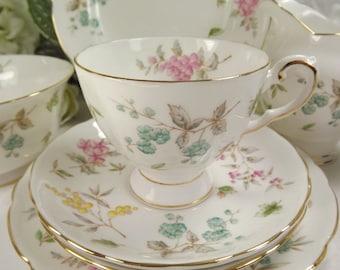 Tuscan Teacup, Saucer , Plate