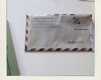 "Pocket envelope ""airmail"""
