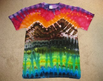tie dye shirt, nature art,Earth Day shirt, Grateful Dead, rainbow