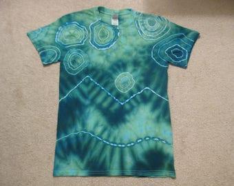 tie dye t shirt, California, New york, Virginia