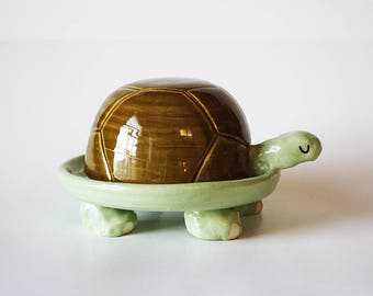 Turtle Butter Dish