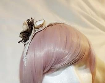 Creamy brown classic lolita headband