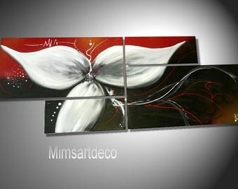 Modern abstract painting EFFLORAISON