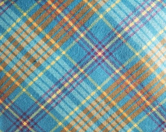 Enamel Plaid Flannel by the yard