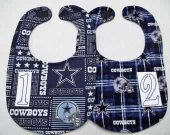Dallas Cowboys Baby Bib